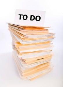 Paperwork Overload