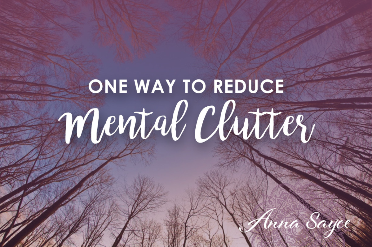One Way to Reduce Mental Clutter & Connect with Intuition More Easily