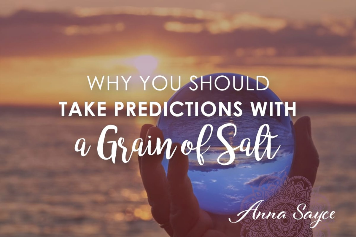 Why You Should Take Predictions with a Grain of Salt