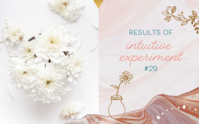 Results of Intuitive Experiment #29 – How Did You Do?