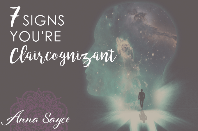 7 Signs You're Claircognizant