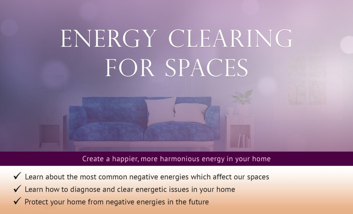 Energy Clearing for Spaces | Anna Sayce