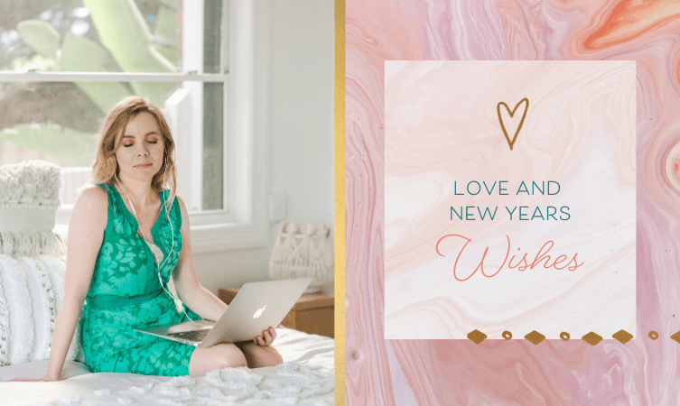 Love & New Year Wishes from me to you + Notes from 2018