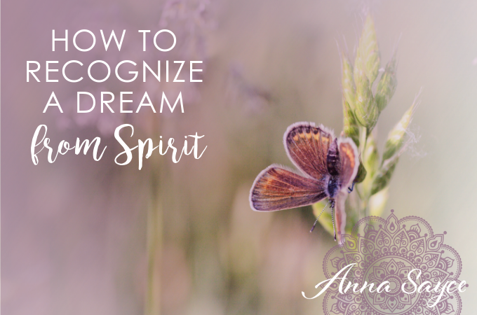 How to Spot a Dream That's From Spirit
