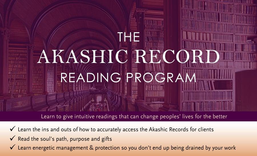 Akashic Record Reading Program – No-Mentoring Version Available