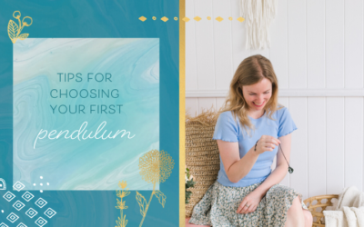 Tips for Choosing Your First Pendulum