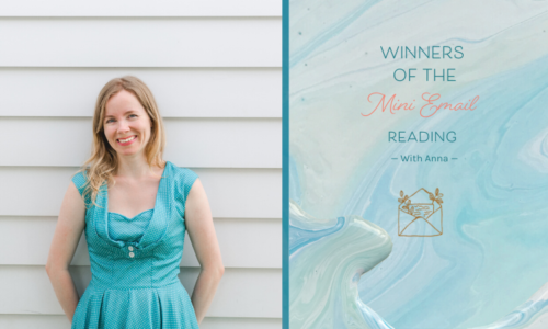 Who were the winners of the mini reading giveaway?
