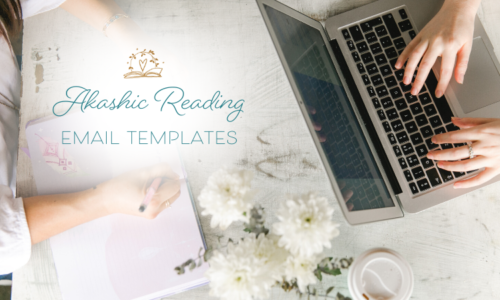 akashic reading email templates