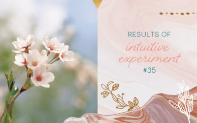 Results of Intuitive Experiment #35 – How Did You Do?